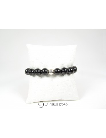 Shungite, Bracelet 10 mm