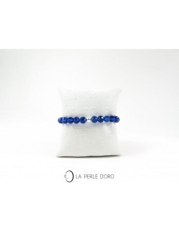 Cristal de Bohème bleu...