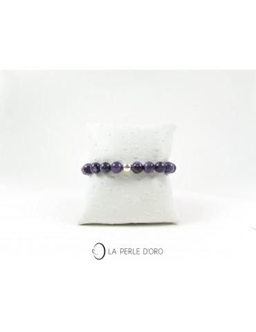 Charoïte , Bracelet en  9 mm