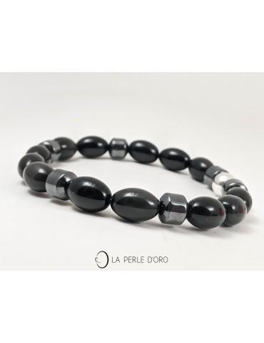 Obsidienne noire et...