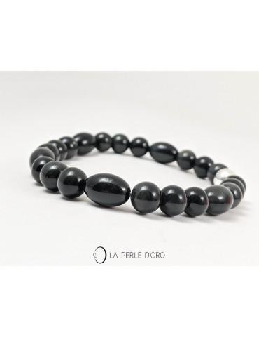 Obsidienne noire, Bracelet...
