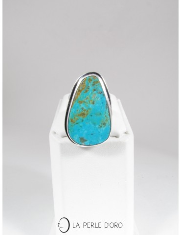 Turquoise naturelle, Bague...