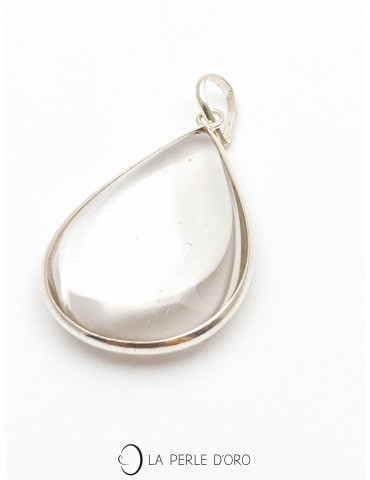 Cristal de roche, pendentif...
